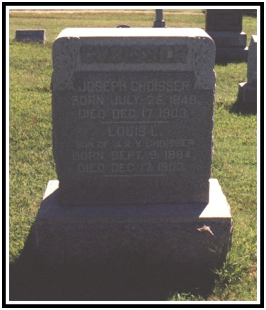 Grave of Joseph and Louis Choisser